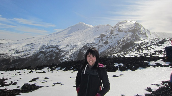 Tongariro National Park - winter
