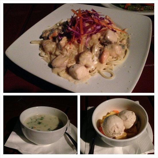 Anchorage Beach Resort's food