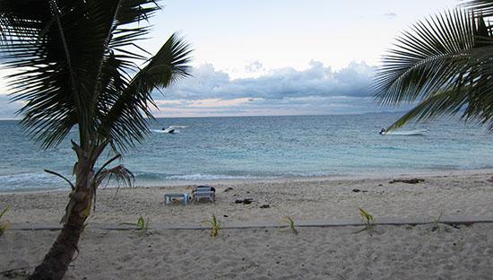 Vew from Beachcomber Island Frontview resort