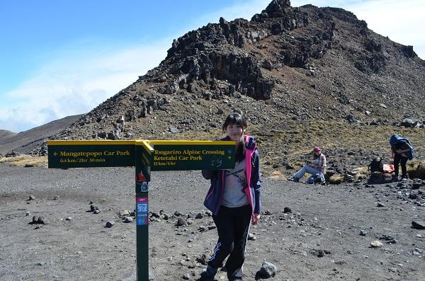 Tongariro National Park in Summer