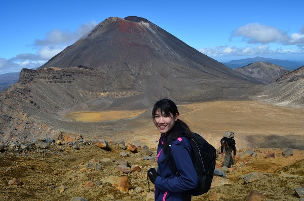 Tongariro National Park in Summer