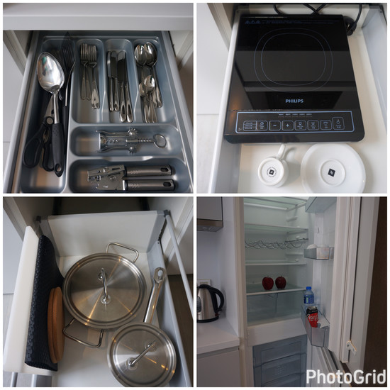 07HK One96 Hotel Kitchenette equipments