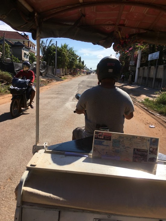 Tuk Tuk in Siem Reap, Cambodia