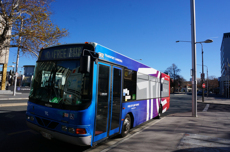 Canberra Travel Ideas - Free Bus no.101