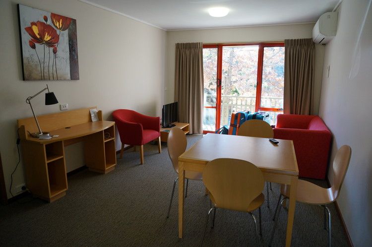Canberra Travel Ideas - Inside the ANU's apartment